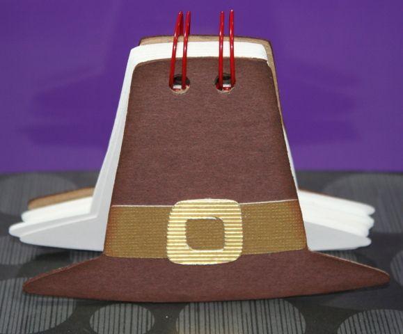 "Pilgram Hat ""Thankful"" book – Thanksgiving Cricut Cartridge"