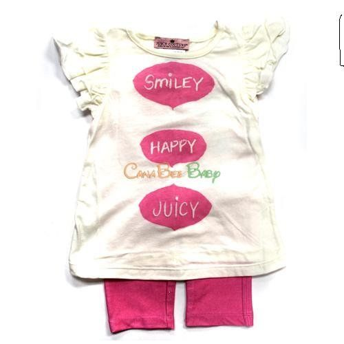 Juicy Couture 2 Piece Legging Set Girls Size 3 6 Months Pink