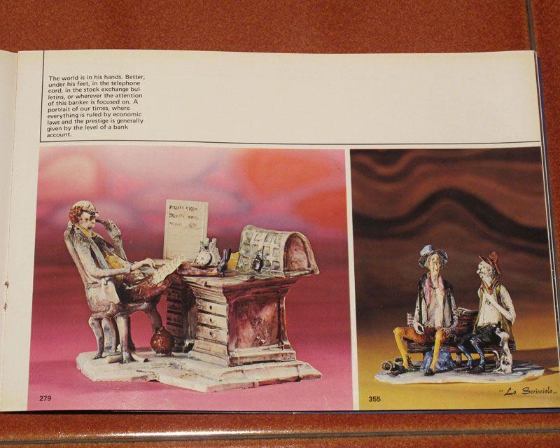 Vecchio catalogo lo scricciolo ceramiche ceramiche italiane di