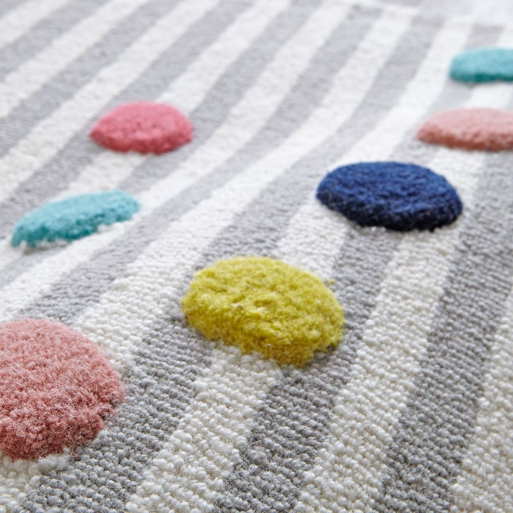Sprinkles Striped Rug Striped rug, Kids rugs, Kids area rugs