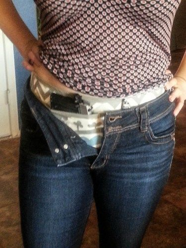 Pick your own fabric Concealed carry holster for women   An Elephant ... 16d154727eb