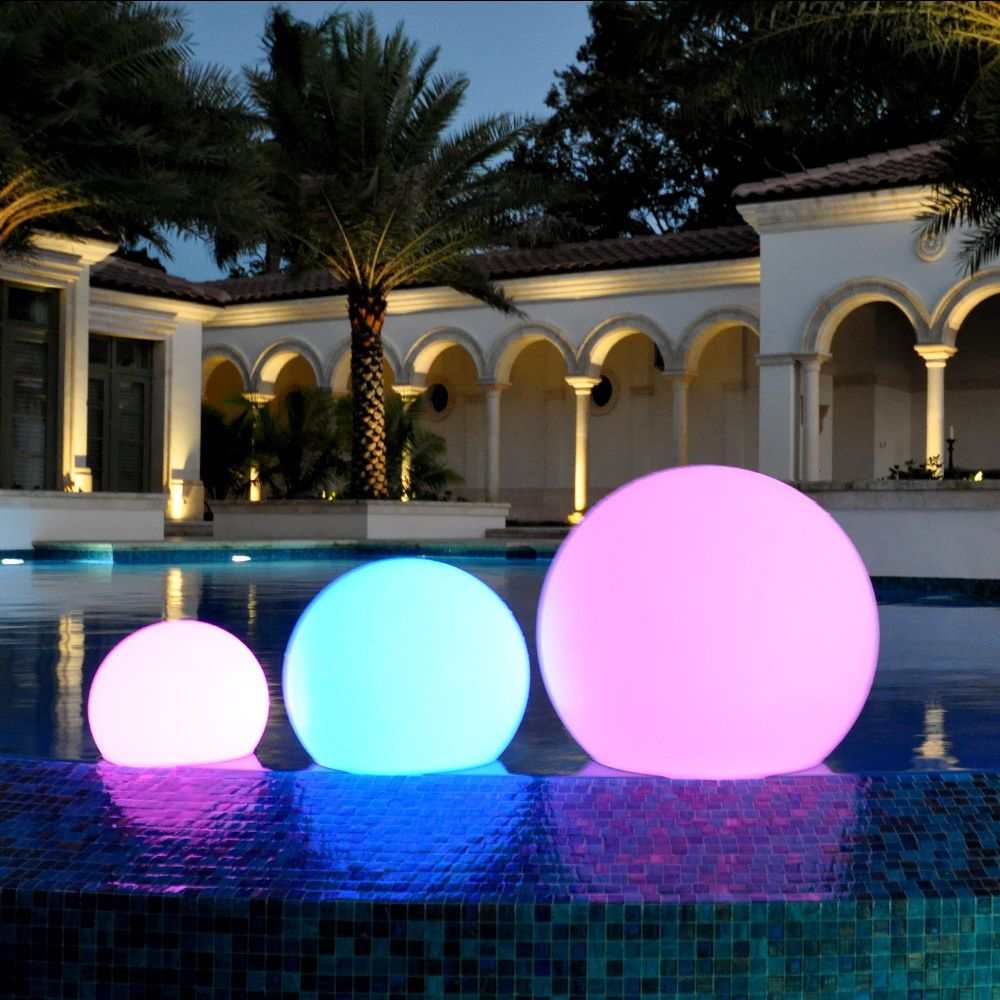 The Miami LED decorative balls will surely create an unique and