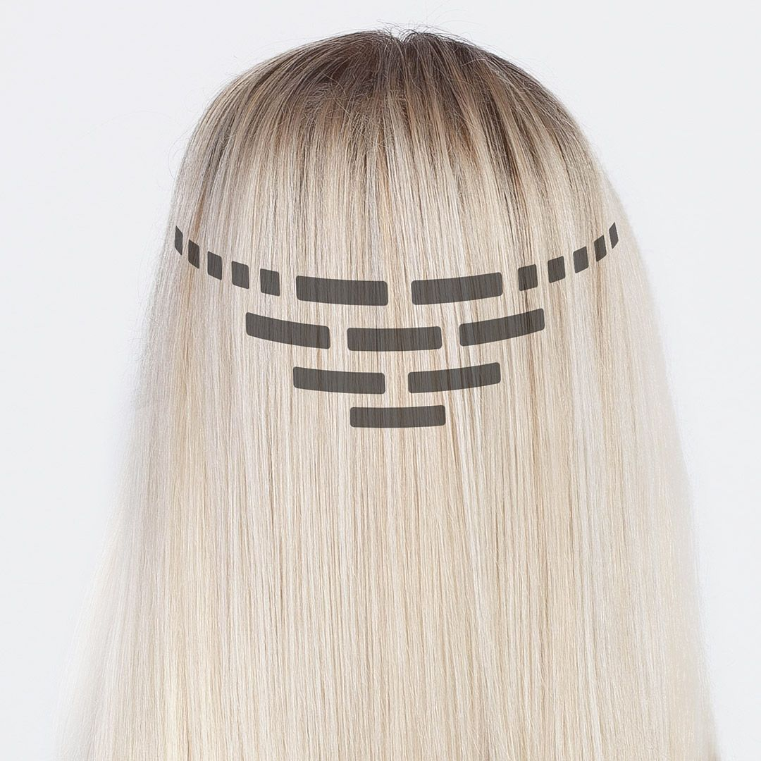Tape On Hair Extensions Attachmebt Step By Step Rapunzel Rapunzel Of Sweden Hair Extensions Tutorial Hair Tape Hair Extensions