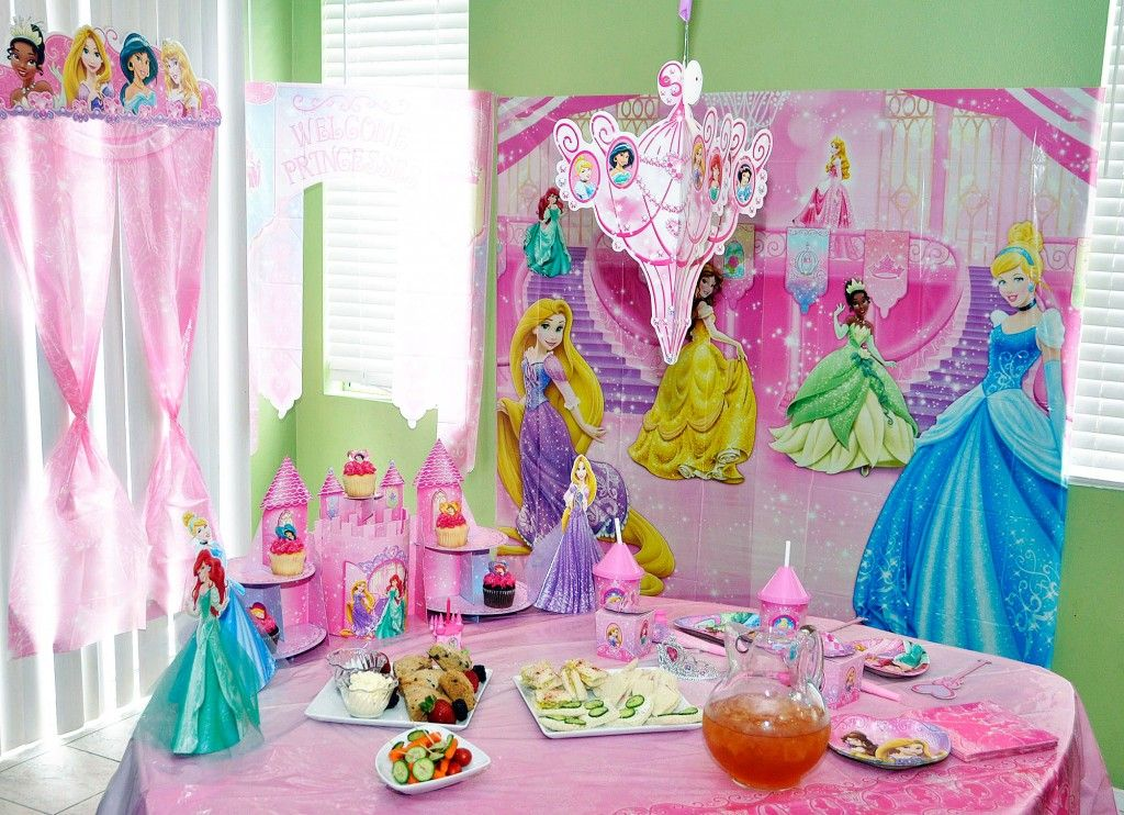 How To Plan a Disney Princess Royal Tea Party – Disney Princess Tea Party Invitations