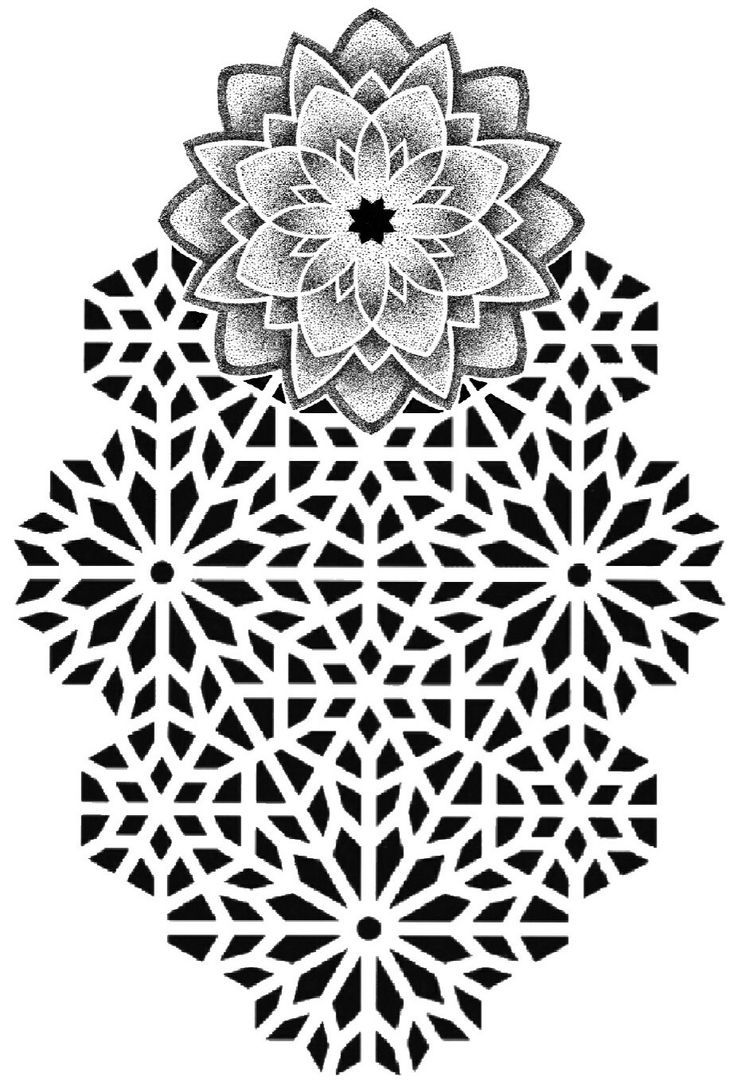 Pin By Chris Tattoos On Tattoo Pattern Geometric Mandala Tattoo Geometric Mandala Pattern Tattoo