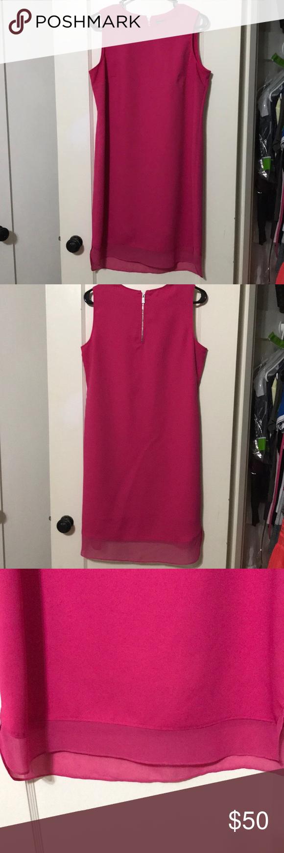 Vince Camuto Hot Pink Dress Hot Pink Dresses Pink Dress Dresses [ 1740 x 580 Pixel ]