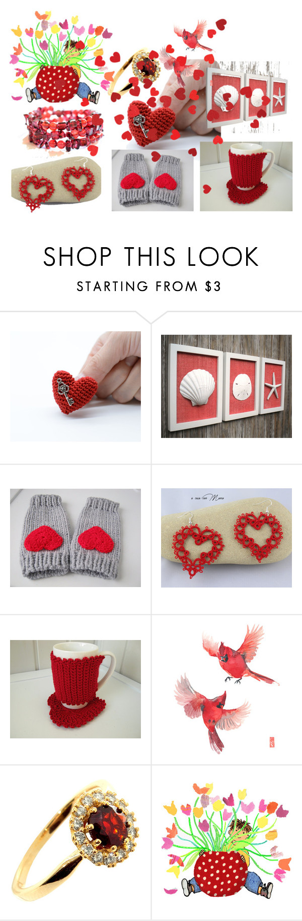 """""""St. Valentine's Day."""" by lwitsa62 ❤ liked on Polyvore featuring beauty"""