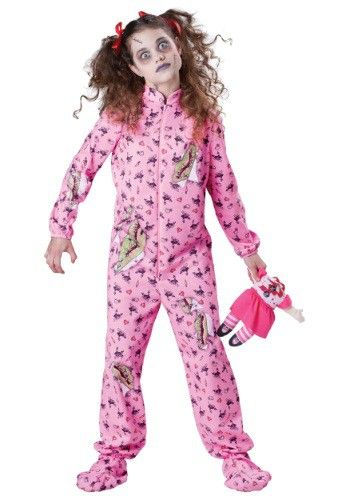 Buy Theme Halloween Costumes Scary Costumes - Kids Zombie Girl