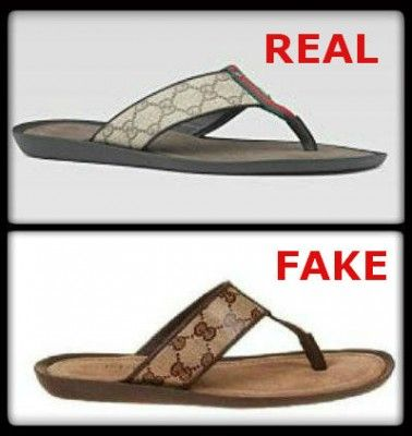 c2f96b111ecf How to Spot Fake Gucci Sandals