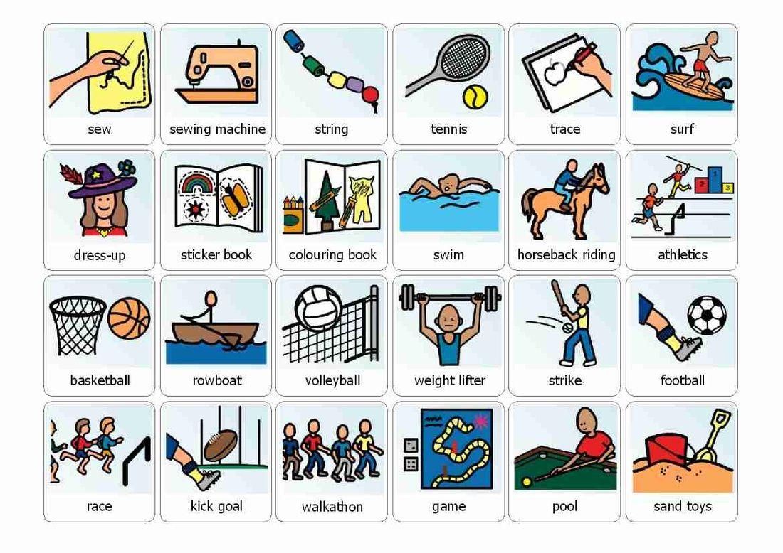 Boardmaker Schedule Icons