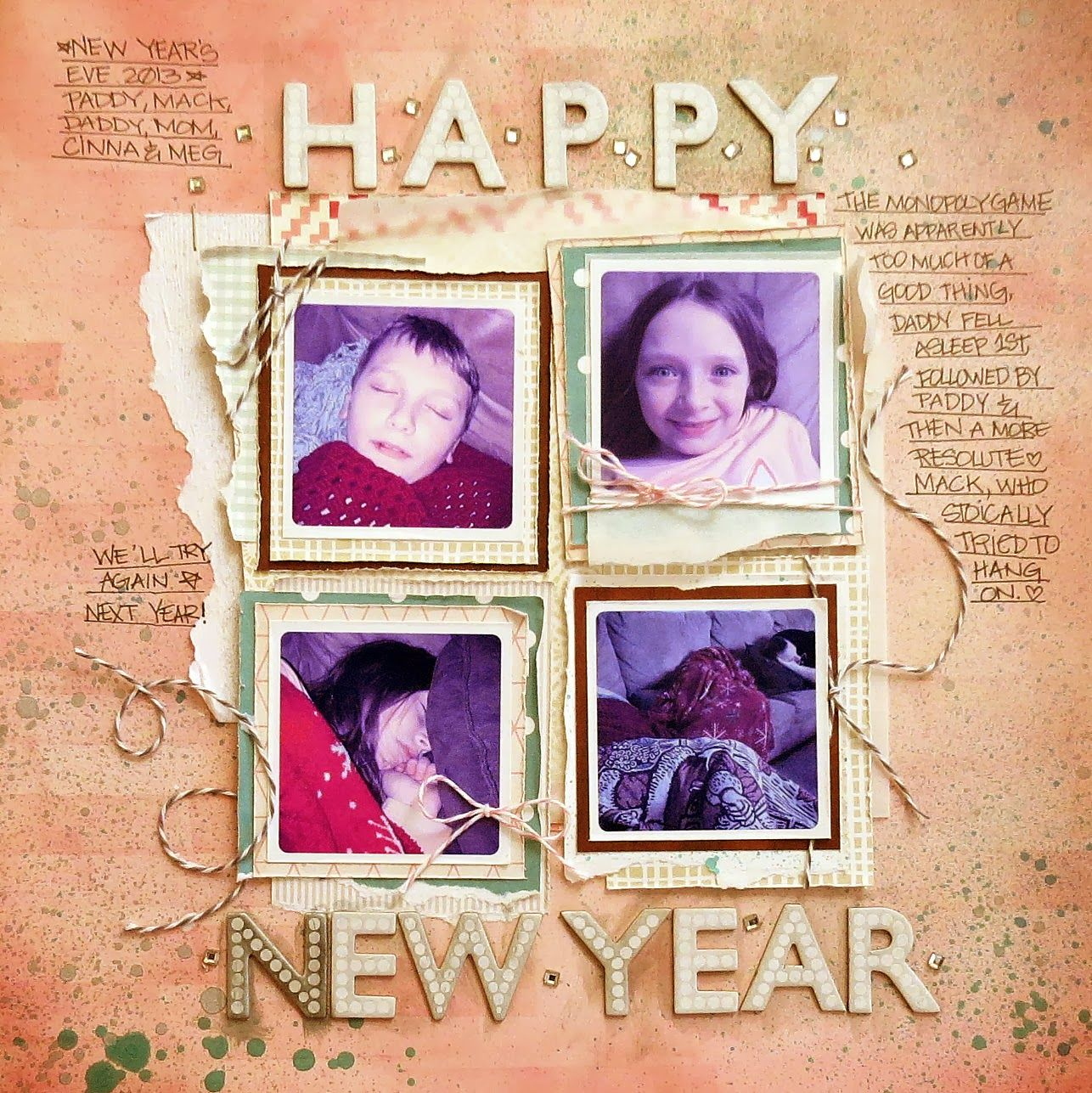 Twineology by: Timeless Twine: ★•••{Here's to a Brand New Year!}•••★