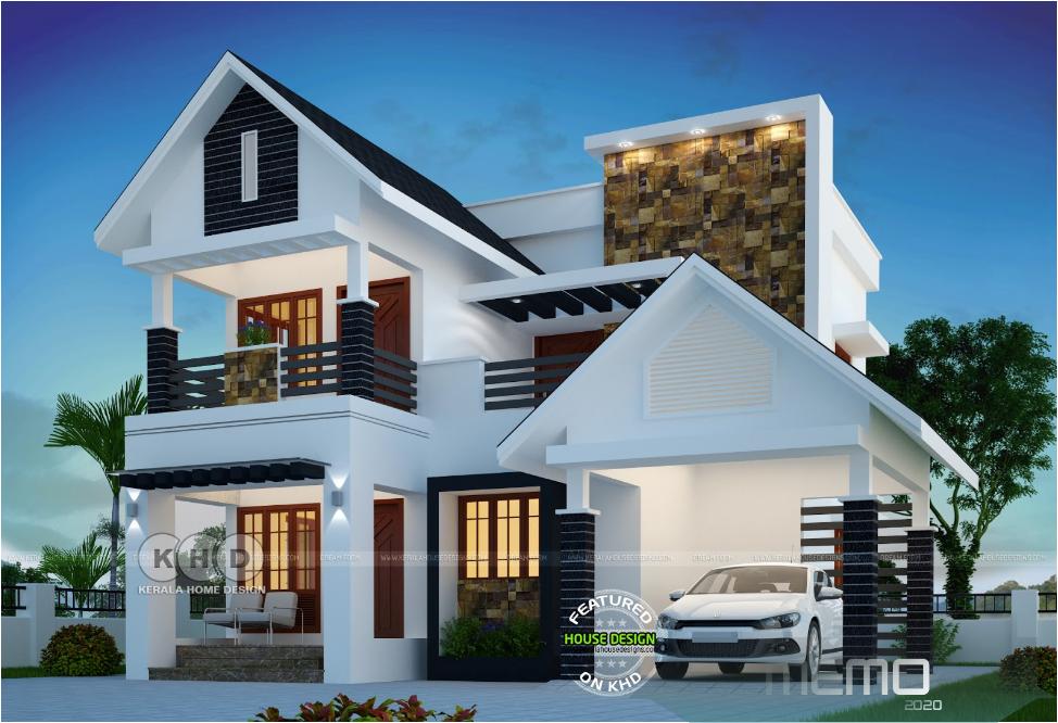 Dec 15 2019 Delightful Residential Villas Facade Ideas Maisondereveexterieur Planebungalow In 2020 Kerala House Design House Outer Design Bungalow House Design