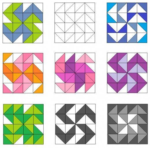 Dutchmans Puzzle And Variation Quilt Blocks Quilt Patterns