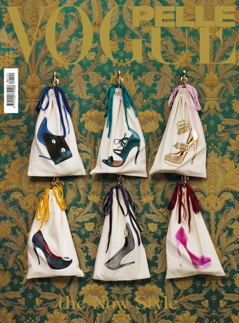 Michael Baumgarten's Trompe l'Oeil Shoe Bags for Vogue Pelle
