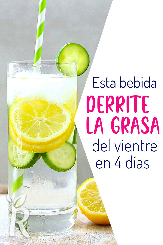 Esta Bebida Increible Derrite La Grasa Del Abdomen De Solo 4 Dias Healthy Recipes Healthy Drinks Healthy Nutrition
