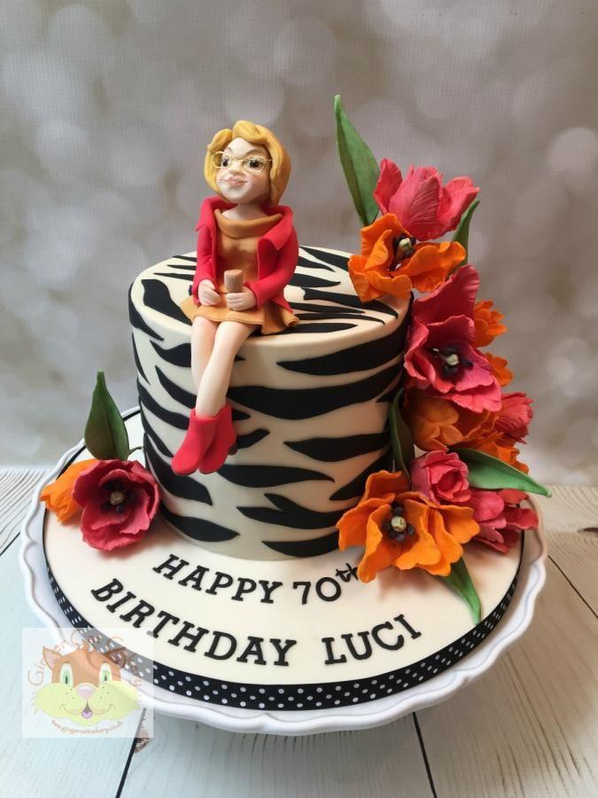 Tulips By Elaine Ginger Cat Cakery Cakes Cake Decorating