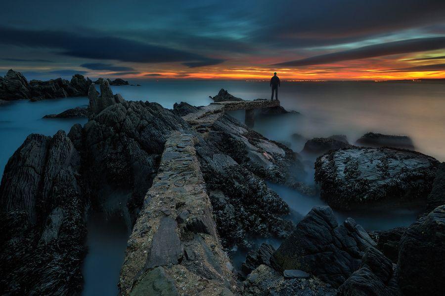 At The Edge Of The Night...   by Pawel Kucharski