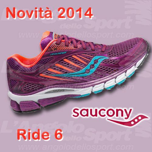 Novità #Running 2014: #Saucony Ride 6 W! http://buff.ly/1mq88DL