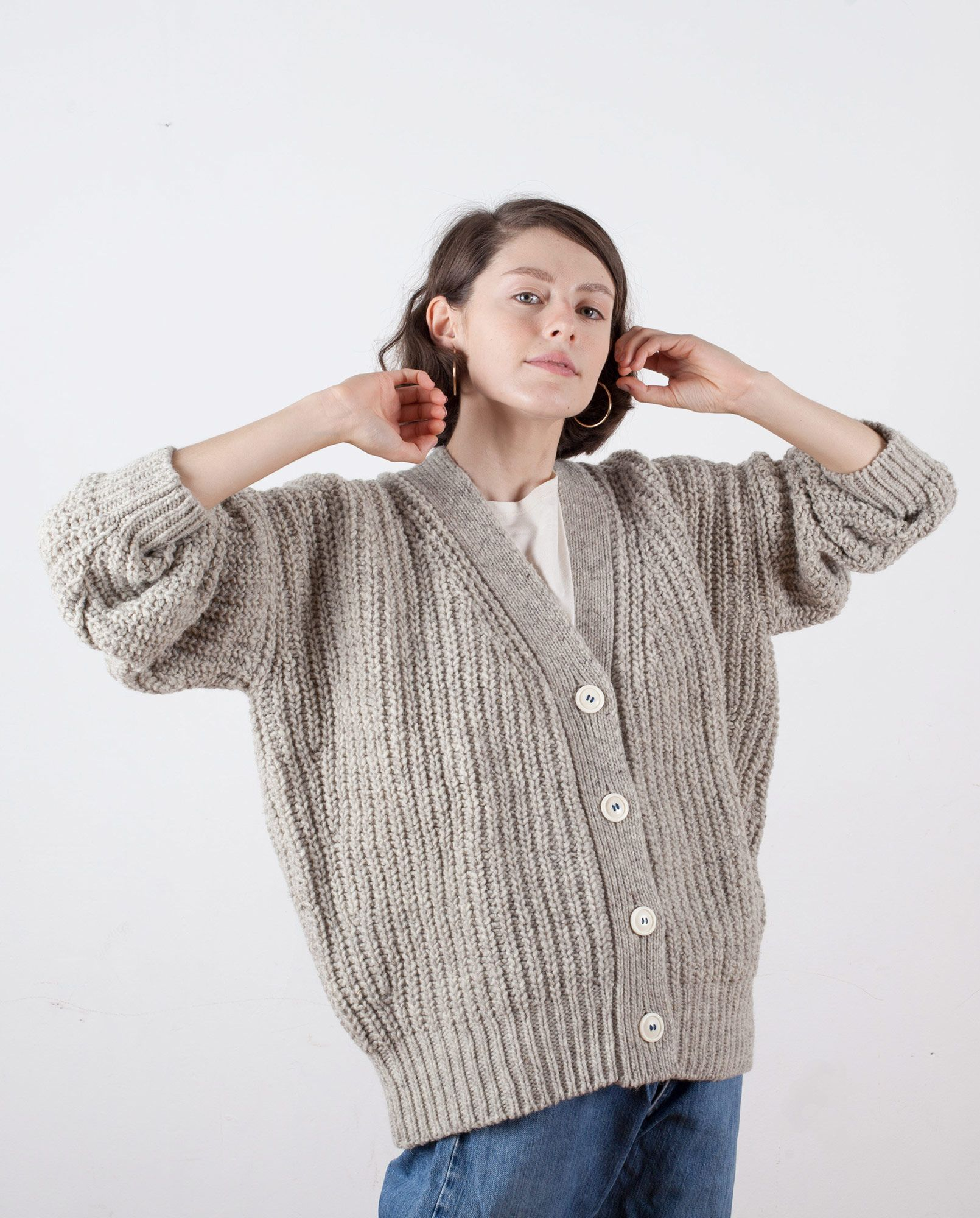 cardigan-woman-no19-mist-m1 | clothes | Pinterest | Knitwear ...