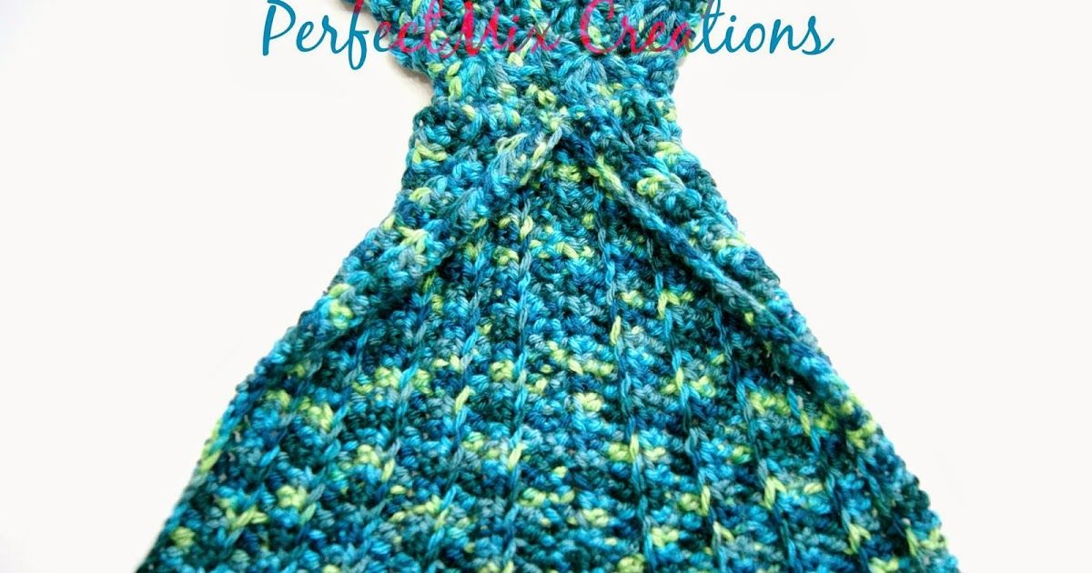 Mixin it up with DaPerfectMix\': Crochet Mermaid Tail Fin Pattern ...