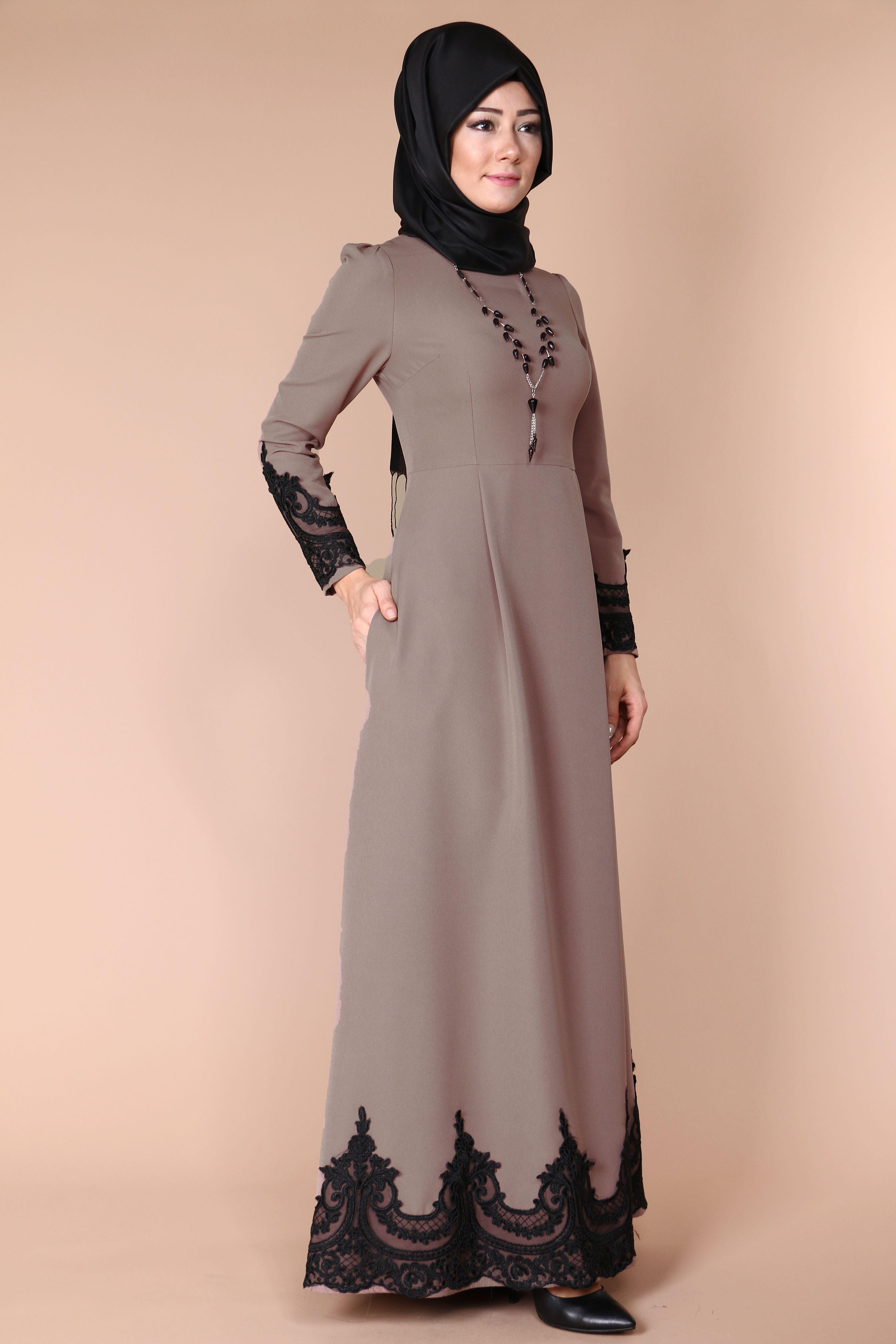 3f63d2951efef Minel Dantel Detay Elbise 139.90 TL Siparis 👉👉👉www.modaselvim.com Ürün
