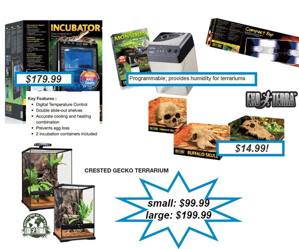 Lots Of Exoterra Items On Sale Right Now At J M Aquatics And Pet