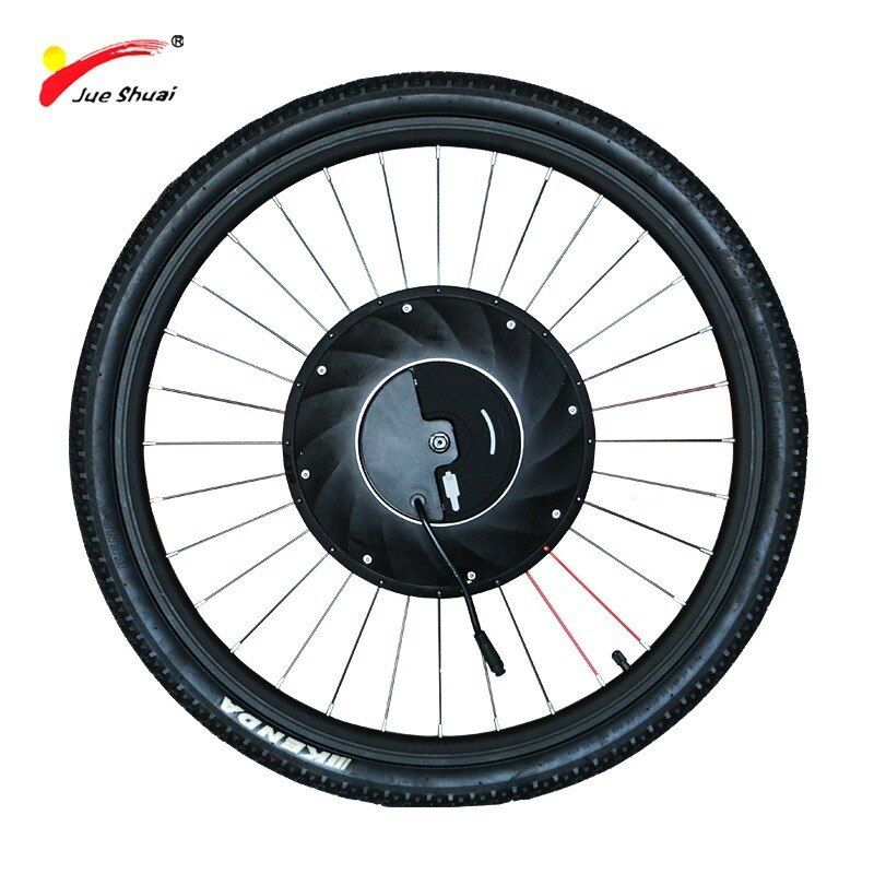 Imortor Electric Motor Wheel Electric Bike Conversion Kit With Battery All In One Ebike Motor Wheel Bic Electric Bike Electric Bike Conversion Electric Bicycle