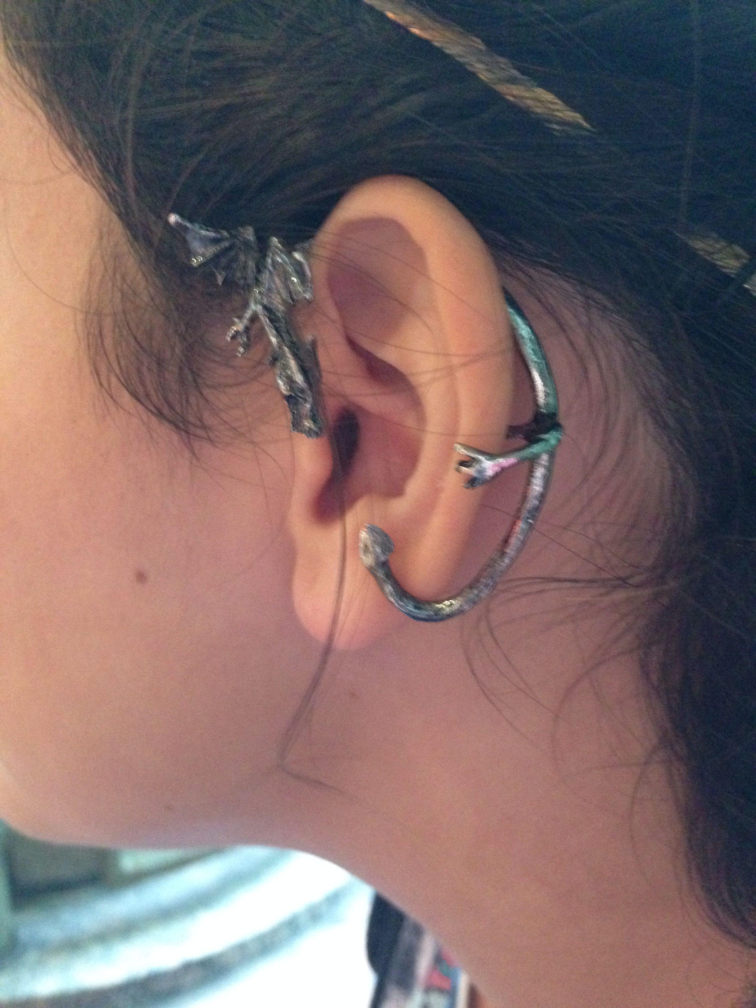 G dragon nose piercing  Got a really cool dragon ear cuff as a souvenir from the Gen Con