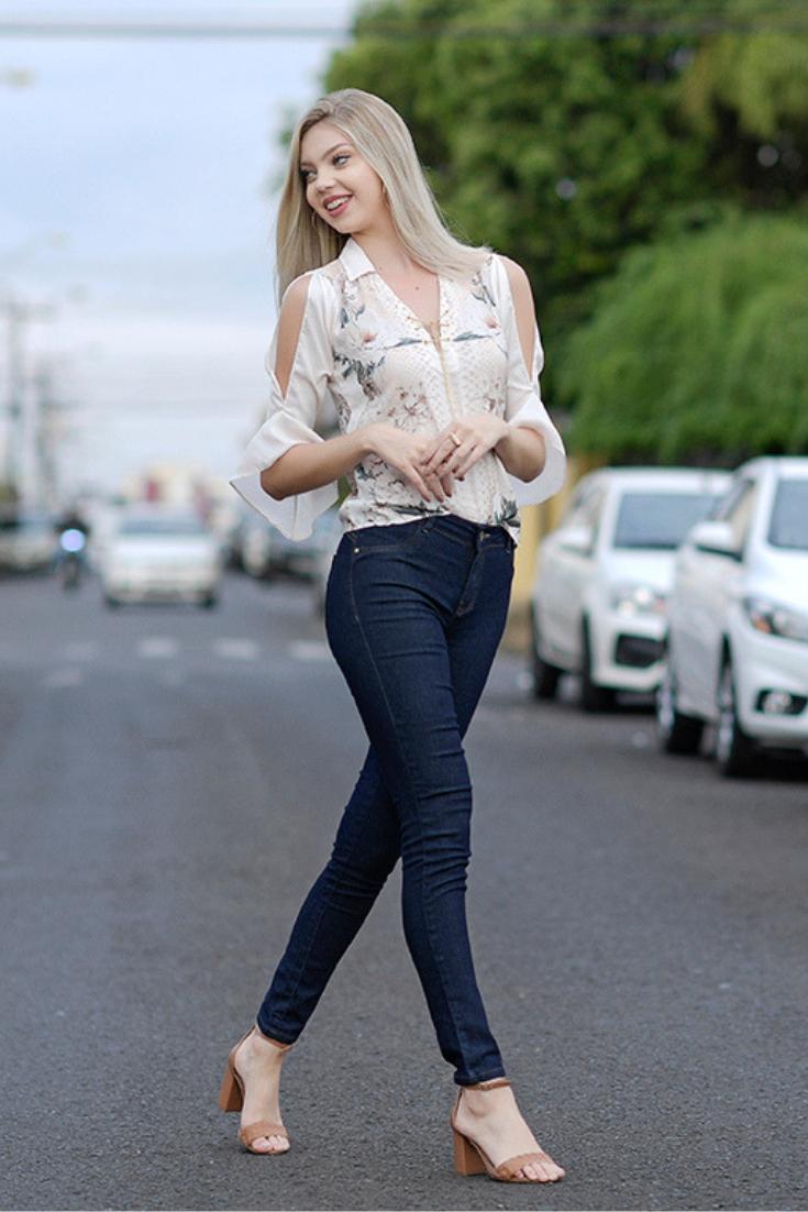 31112707f6 Calça jeans skinny - vai com tudo e com certeza