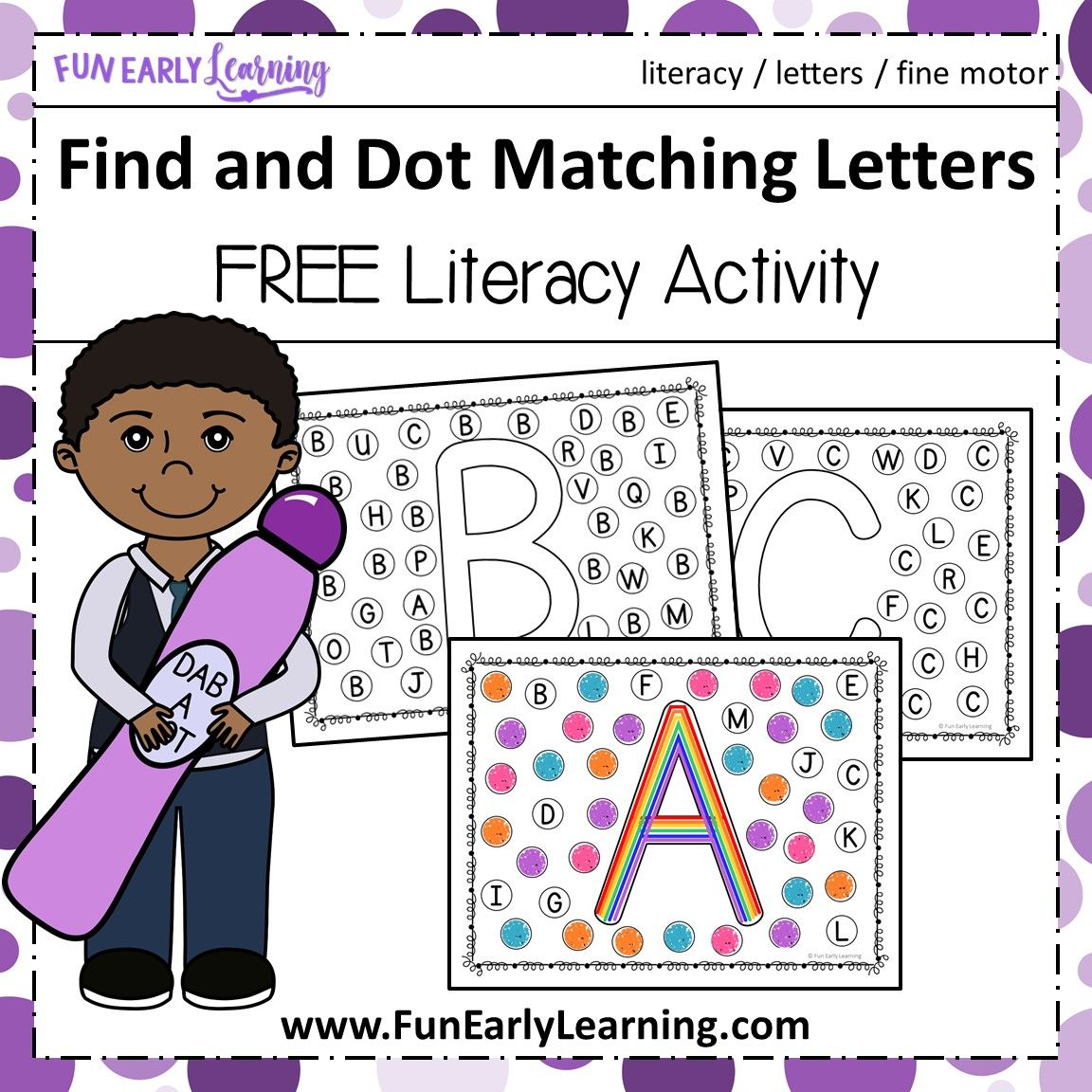Identification Worksheet Upper And Lower Case Letters