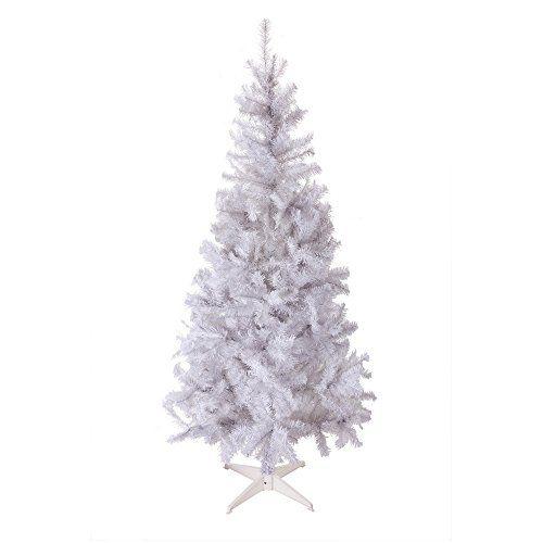 Homegear 6FT Artificial White Xmas / Christmas Tree Seasonal decor