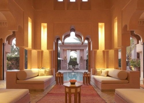 moroccan inspired living room. i love moroccan, indian, arabic