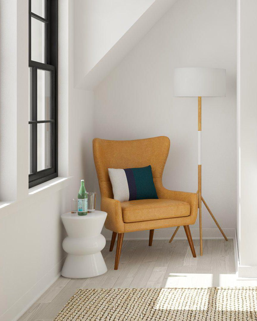 The experts at hgtv.com share small living room ideas and ways to make a small living room look and feel bigger. Layout Solutions: Design Solves for Awkward Spaces | Modsy ...