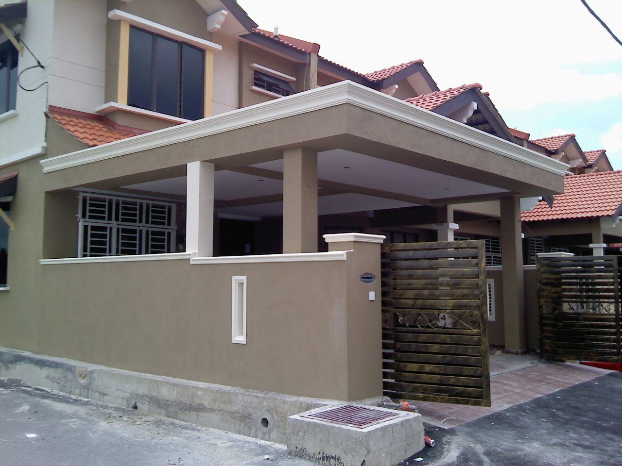 Kitchen U0026 Car Porch Extension Car Porch Extend + Living Hall Extend + 2nd  Floor Extend + Auto Gate Kitchen Extension + Pegola Awn..