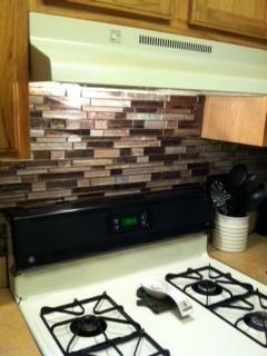 Elida Ceramica Gl Mosaic Laser Metallic Earth Wall Tile Common 12