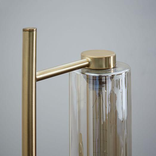 Glass cylinder floor lamp westelm bedroom pinterest floor glass cylinder floor lamp westelm mozeypictures Gallery