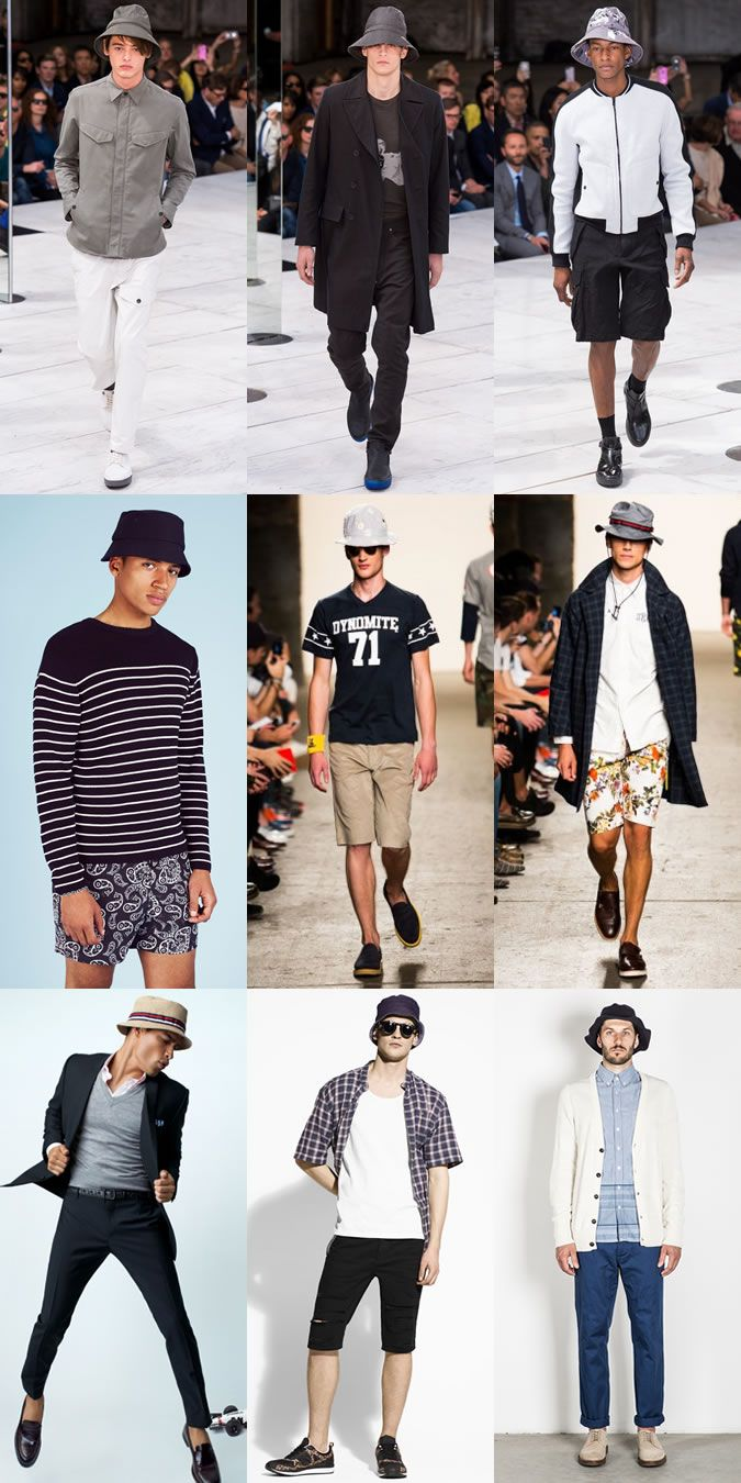 cf62ebfe7ca Men s 2014 Spring Summer Accessory Trends  Bucket Hats Lookbook Inspiration