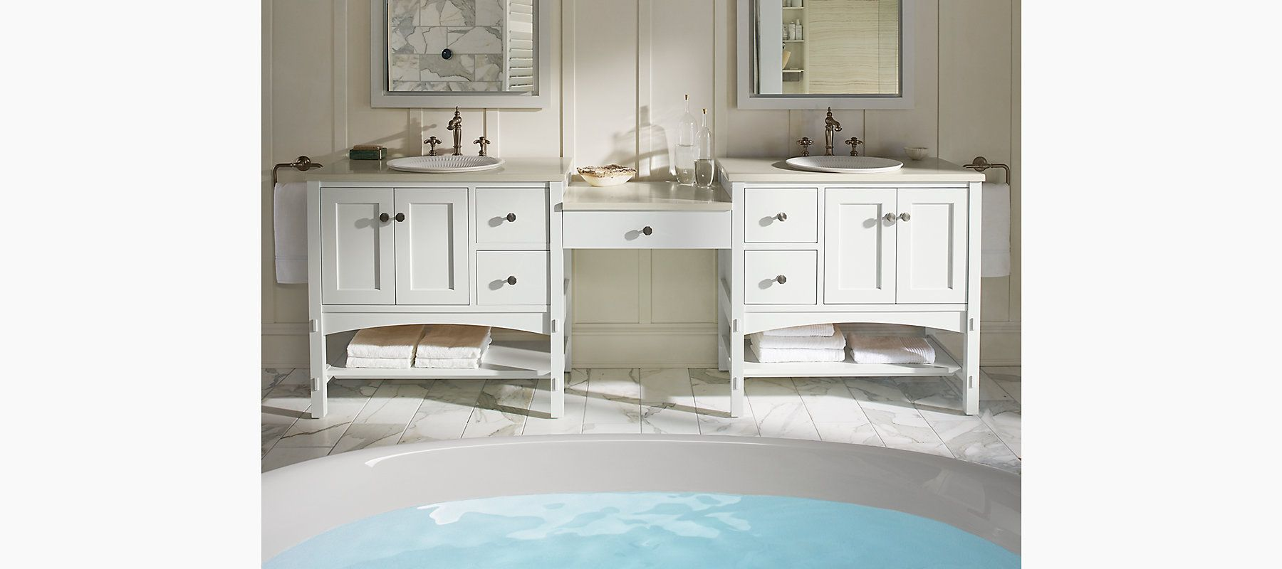 K 99007 Verdera Medicine Cabinet With Magnifying Mirror Kohler Bathroom Vanity Bathrooms Remodel Small Bathroom Vanities