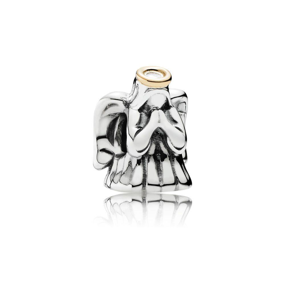 Divine Angel Silver   Gold PANDORA Charm - PANDORA Australia eSTO ... 9679007b44e