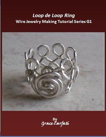 PDF Wire Work Pattern Loop de loop ring by DIYJewelryMaking