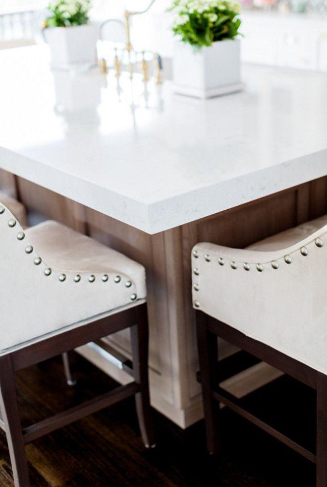 Thick Quartz Countertop Kitchen Island With Thick Quartz