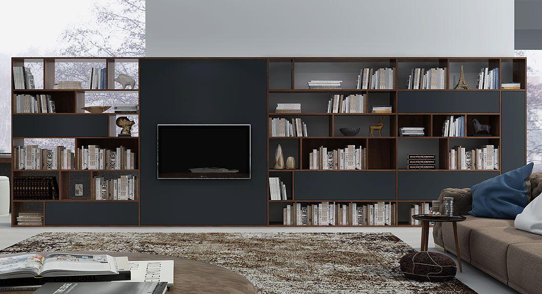 Tv Cabinet Tv Bookshelf Design Idea Oppeinhome Com Wall