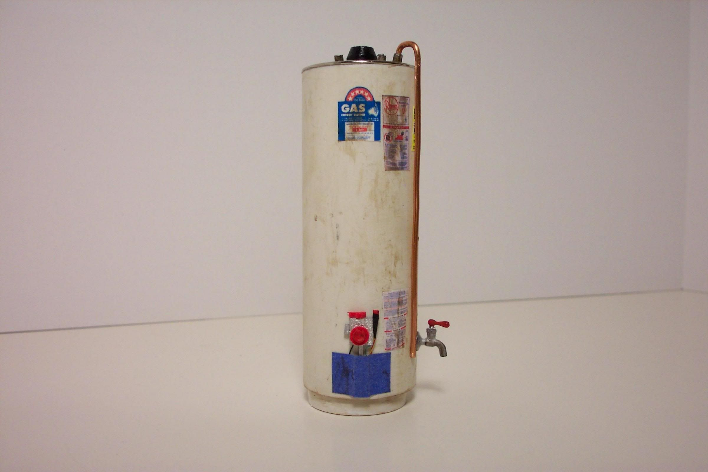 1/12 scale hot water heater | My Dollhouse Minitures | Pinterest ...
