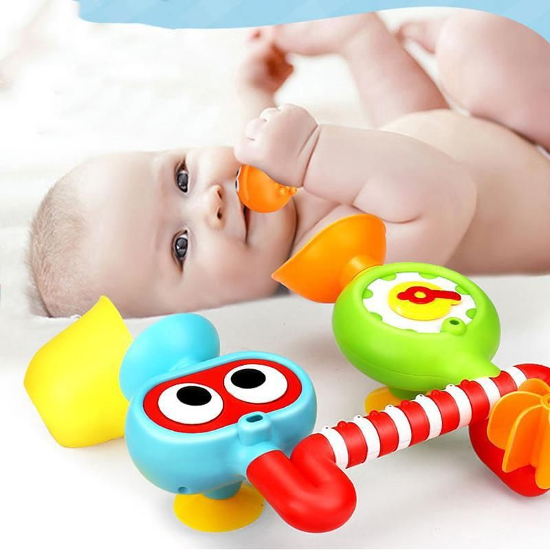 Colorful Bath Toys Water Faucet Taps Sprinkler Water Play For Kids ...