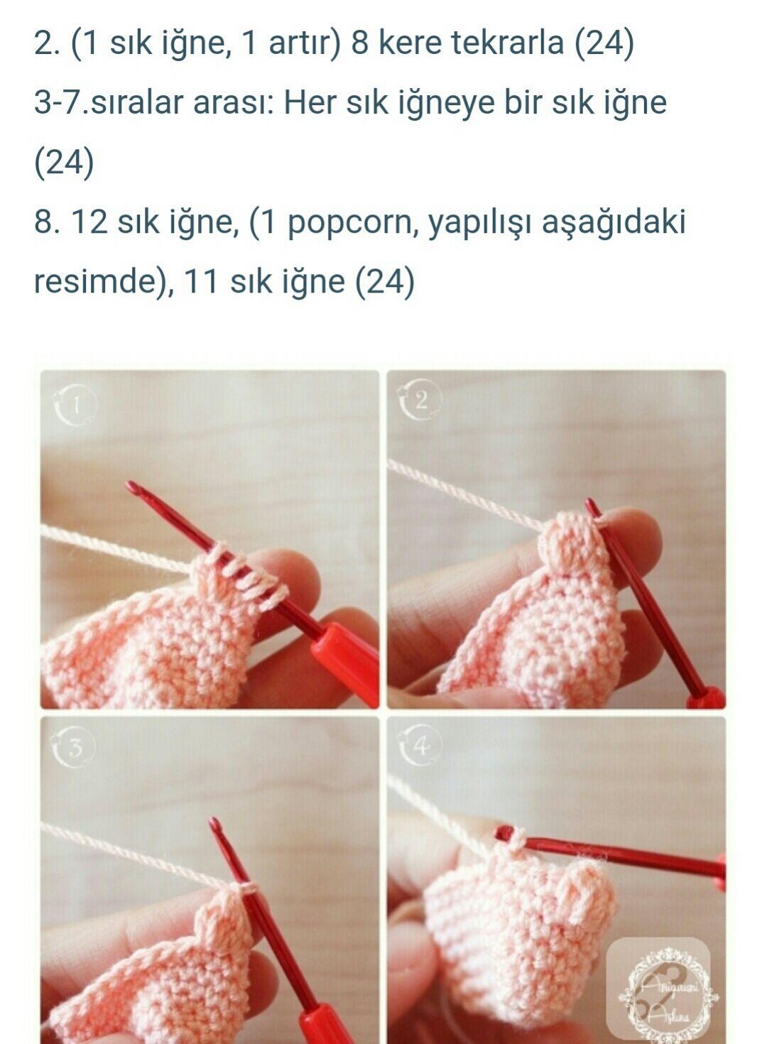 Amigurumi Bebek Yapımı - Oyuncak Bebek Yapımı Videolu Anlatım | 1470x1080