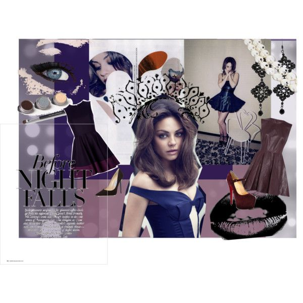 """""""Before Night Falls"""" by linda-michelle on Polyvore"""