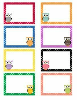 Pin By Rotem Kahlon On Education With Images Owl Labels Owl