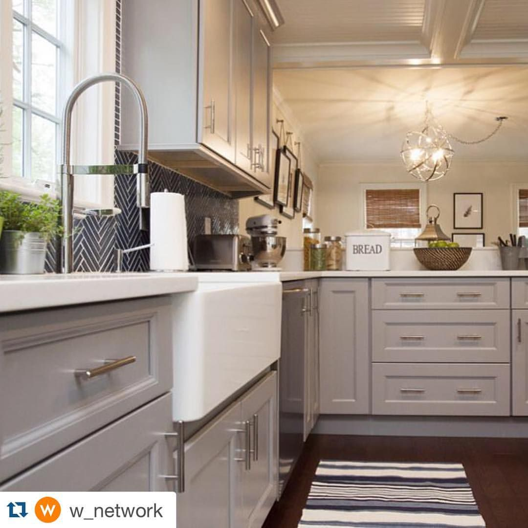 repost w network with repostapp this propertybrothers kitchen was an elegant affair on kitchen remodel apps id=84936