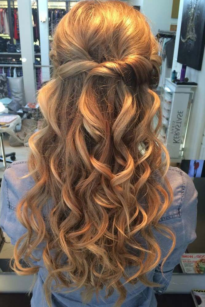 68 Stunning Prom Hairstyles For Long Hair For 2020   Prom ...