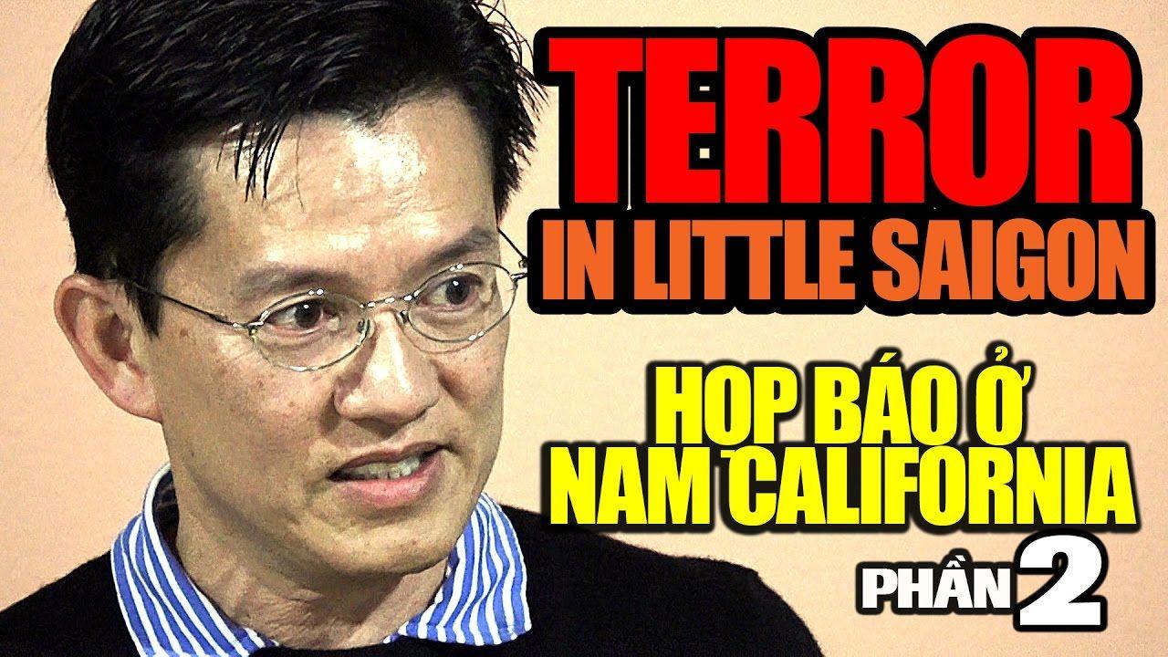 Terror in Little Saigon: Con trai ký giả Đạm Phong họp báo ở Nam California (p2)